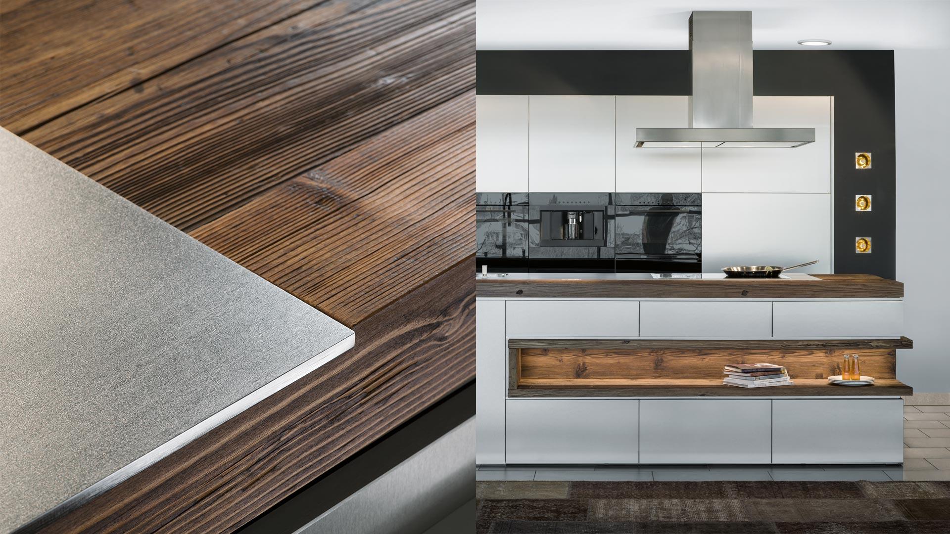 Idee : küche schwarz eiche küche schwarz as well as küche schwarz ...